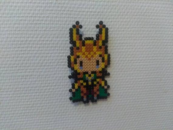 Sprite Loki - Thor/Avangers - Marvel - Hama beads / pixel art / perler beads