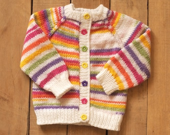 555c9524e Pink baby cardigan Knit baby sweater Toddler jacket 6-9 month