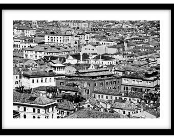 The Rooftops of Venice, Italy.  Photograph is printed in 308gsm Hahnemuhle fine art paper (Unmatted)