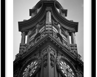 The Palace Theatre Clock Tower.  Photograph is printed in 308gsm Hahnemuhle fine art paper (Unmatted)