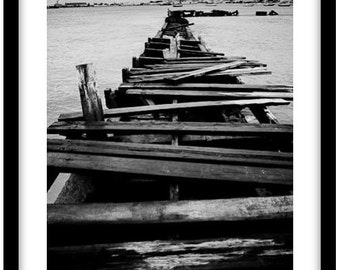 Bridgetown, Barbados.  -   Photograph is printed in 308gsm Hahnemuhle fine art paper (Unmatted)
