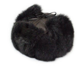 New Real Fur Trapper Hat 9e7f521f251f