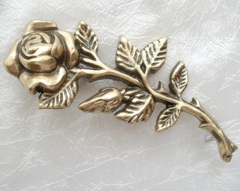 Brass headstone flowers Golden rose for monument 3d rose Tombstone decor Granit monument supply Headstone decor Grave decoration Stone roses