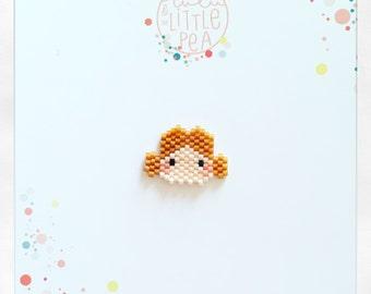 Pine princess leia miyuki delica-atmosphere constellation magical - peyote stitch beadwoven
