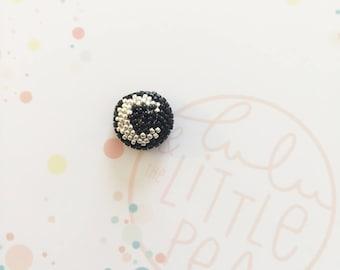 PIN button Moon