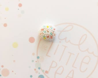 Pins bouton petits pois tutti fruity- collection confetti