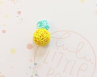 Pins bouton ananas - collection confetti