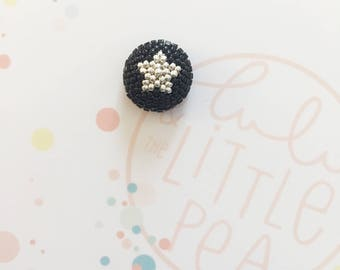 Star button pins