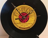 Recycled JERRY LEE LEWIS 7 quot Record Whole Lot of Shakin 39 Going On Record Clock