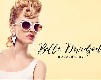 Photography Logo Design, Modern Photo Logo, Photography Logo and Watermark, Printable Business Card, pho