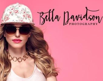 Modern Photo Logo, Photography Logo Design, Photography Logo and Watermark, Printable Business Card, pho