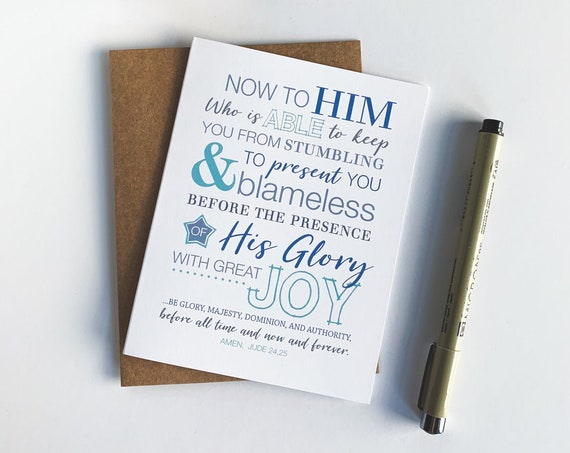 Scripture Stationery Set, Thank You Cards, Scripture Cards, Jude Bible Verse, Scripture Memory, Just Because, Blank Cards, Multiple Set