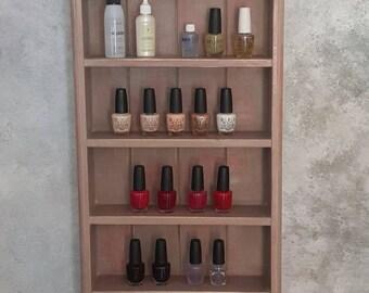 Handmade wooden Trinket Shelf unit painted in Annie Sloan Chalk paint