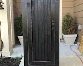 Primitive Wood Storage Cabinet, Farmhouse Cabinet, Country Cabinet, Pie Safe