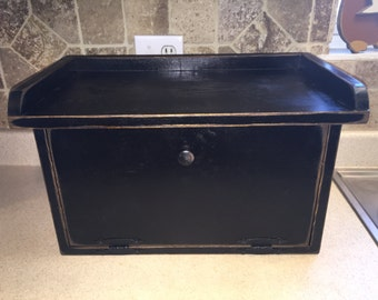 Primitive Bread Box or Storage Box