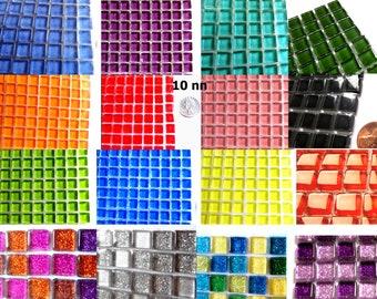 100 Square Glass Tiles dc755a912a37c