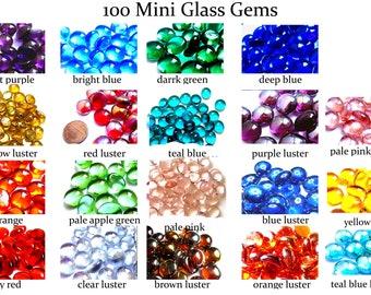 1.2-LB 3//4-Inch Frosted Glass Marble Gems Vase Filler
