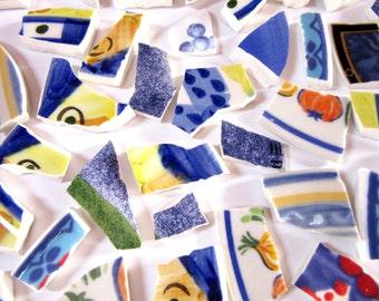 50 Mismatched Mosaic Tiles