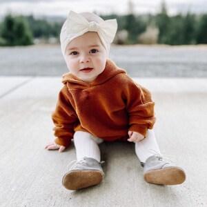 Vintage Doe Spun Baby Two Piece Sweater Romper circa 1970s
