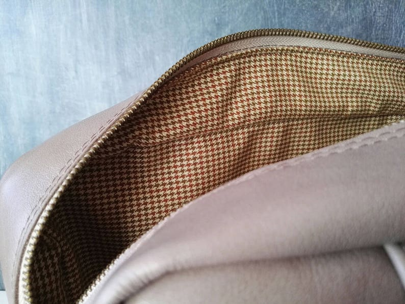 Genuine leather bag woman bag medium size handbag beige leather handbag italian leather bag