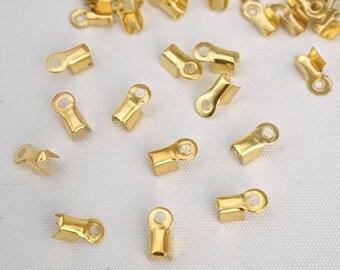 Gold, larg 20 tips: 3 mm