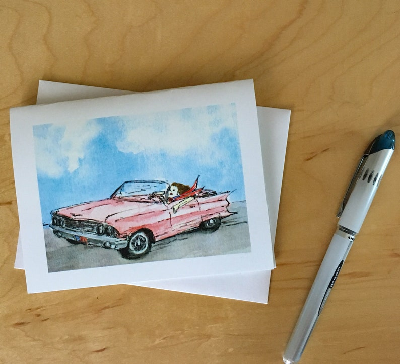 Pink Cadillac Custom Stationery for Mary Kay Consultants. image 0