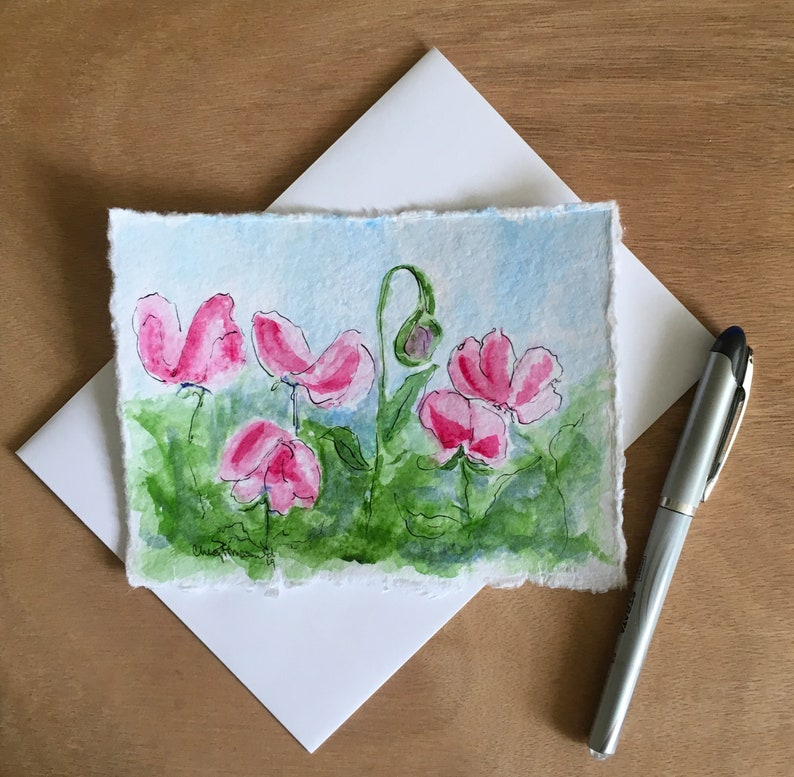 Perfect for a Spring or Summer birthday card. Bright Pink image 0