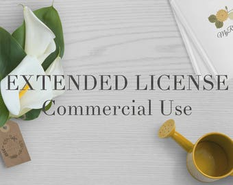 Extended License for Commercial Use - 50% off on orders over 12 dollars use code: THANKS50