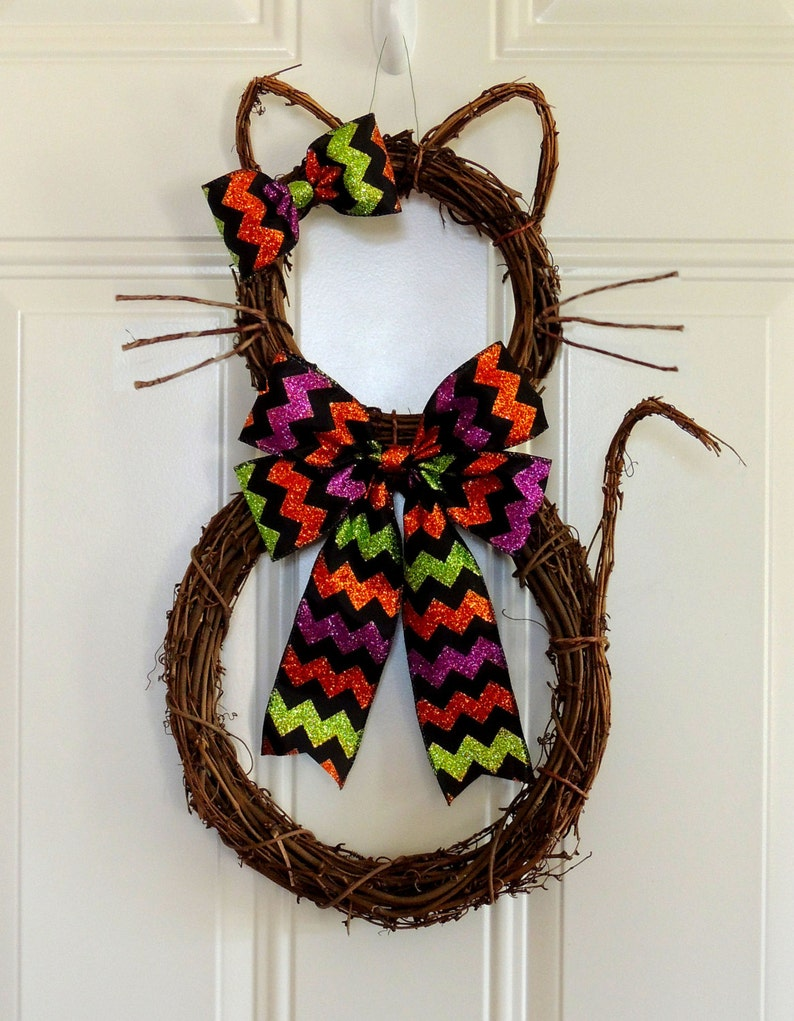 Chat Couronne Halloween Couronne Kitty Boo Chat Couronne Etsy