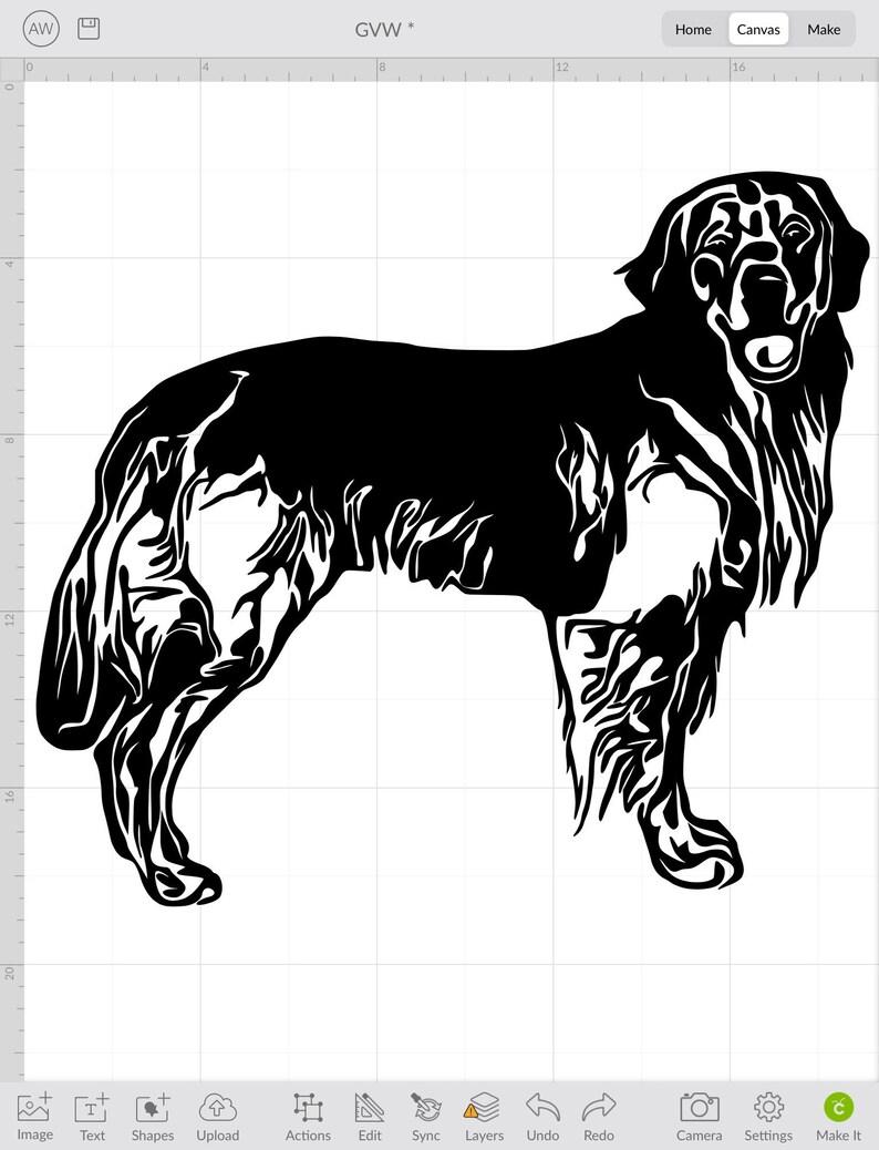 Lab clip art Golden,clean cut cut file SVG stencil,shirt,Tumbler vector Golden retriever,PNG digital download pet face pet animal