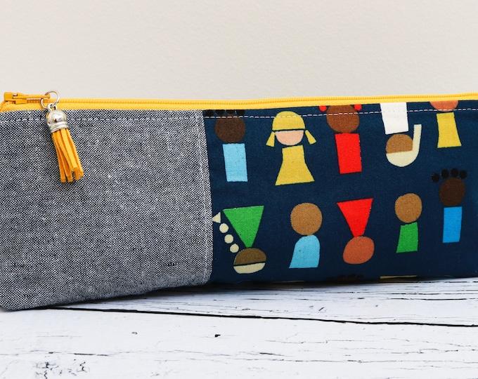 Pencil Pouch - Little People