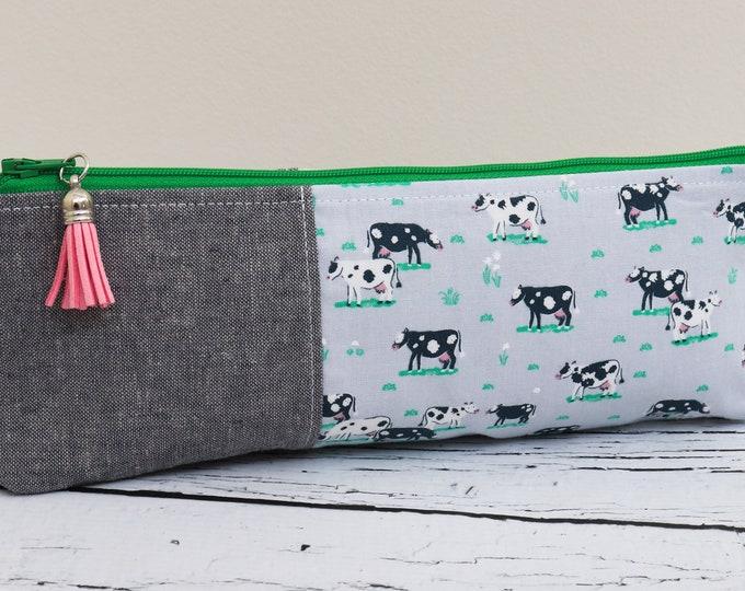Pencil Pouch - Cute Cows
