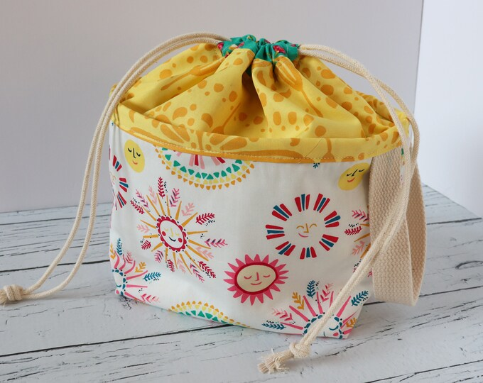 Project Bag - Hello Sunshine - Bloem Basket