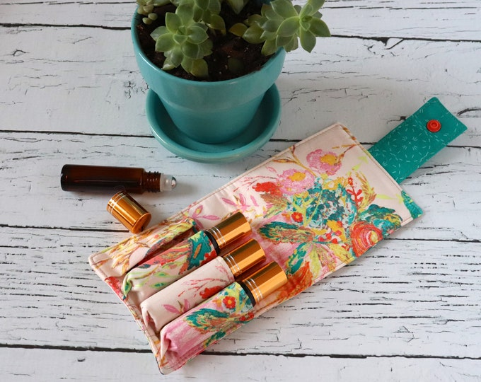 Essential Oil Wallet - Wild Bloom - 4 Rolls
