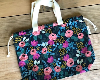 Drawstring Bag - Tote Bag - Project Bag