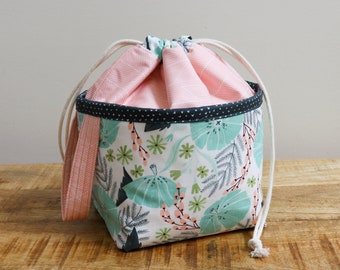 Project Bag - Sweet Leaves - Bloem Basket