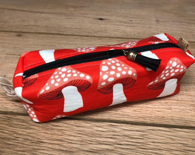 Pencil Pouch - Mushrooms - pouch