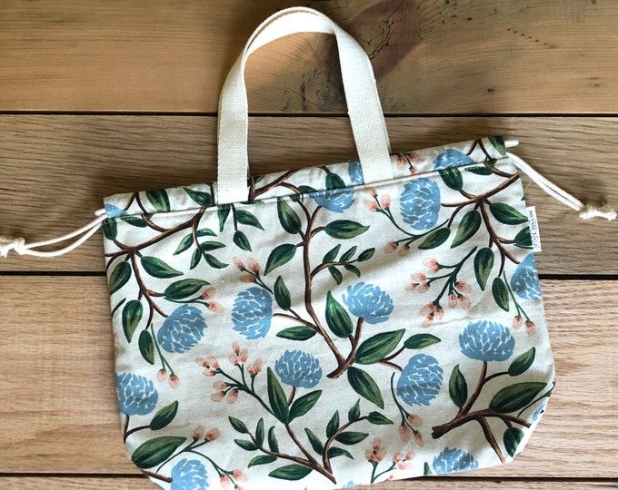 Drawstring Bad -Tote Bag - Project Bag