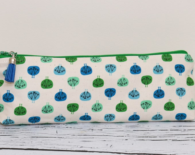Pencil Pouch - Lots of Trees