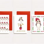 Porg Christmas Card Set // Star Wars Christmas Cards // Assorted Cards