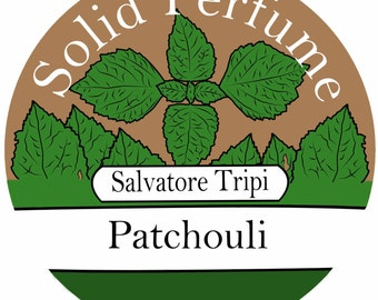 PATCHOULI Handmade Solid Perfume 10gm Round Container by Salvatore Tripi - Italian Recipe
