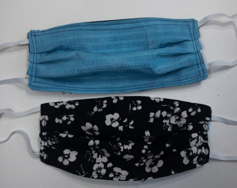 Mindful Masks- Washable Face Masks- Found Fabrics- Protect Yourself  and Others- 2 Plus One To Gift
