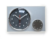 70s AEG Germany Kitchen Wall Clock TIMER - Bauhaus Panton Space Age Modern 1970s Germany Alarm Junghans Short Minute