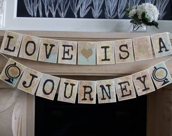 love is a journey travel theme travel bridal shower adventure themed bridal shower map themed bridal shower traveling from ms to mrs