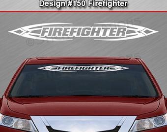 Design #100 PRINCESS Flame Windshield Decal Sticker Back Window Vinyl Graphic