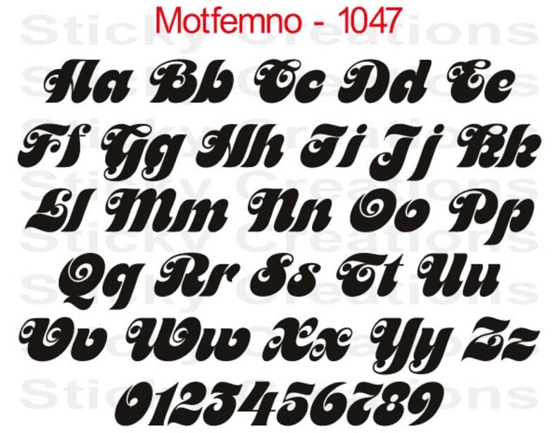 4X4 McBethos Font Windshield Decal Rear Window Sticker Graphic Truck SUV Banner