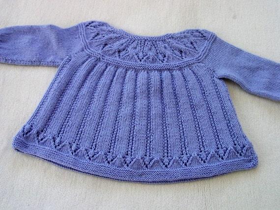 Hand gestrickte Baby Kleid lila Baby Kleidung Babys | Etsy