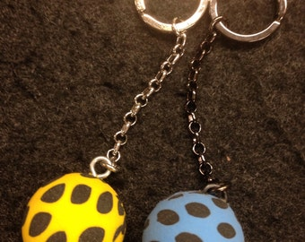 Spotted Super-ball Keychain!