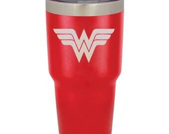 ffd9c271218 Wonder woman yeti | Etsy