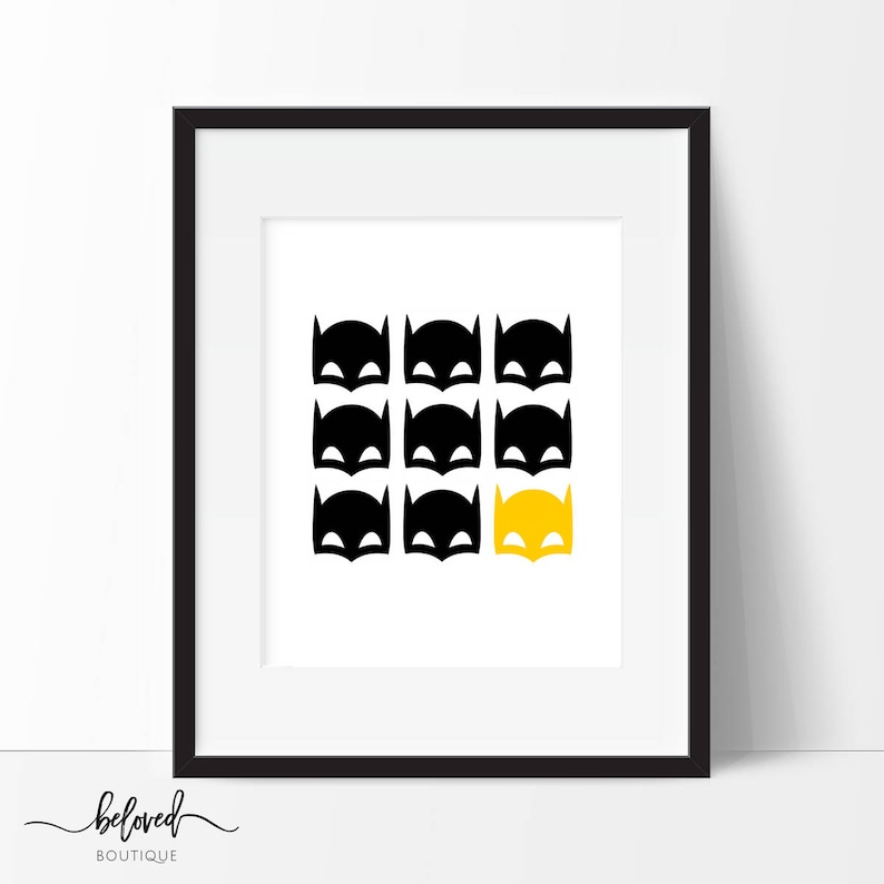 photo regarding Printable Batman Mask called Batman Mask Print, Batman Printable, Batman Artwork, Nursery Decor, Superhero Wall Artwork, Boys Space Decor, Superhero Artwork, Immediate Down load